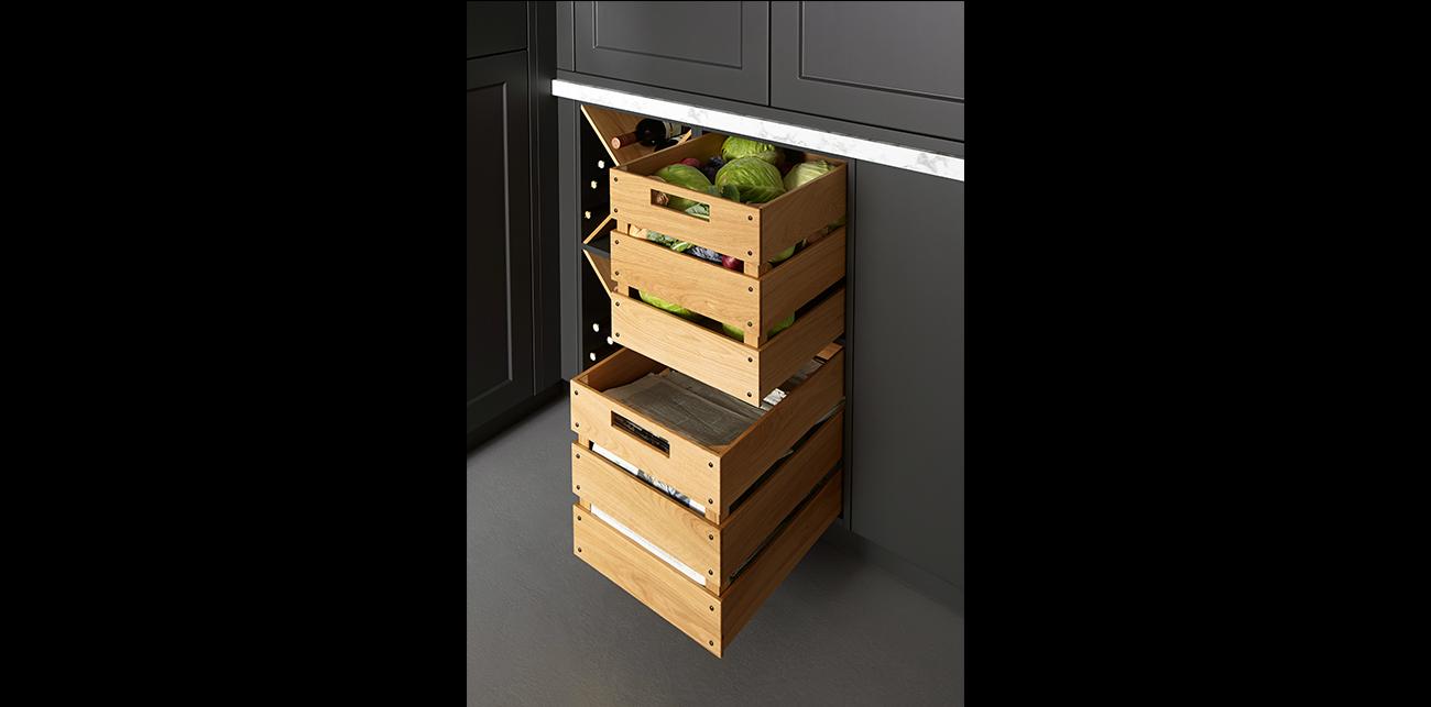 Awesome Korbauszüge Für Küchenschränke Photos - New Home Design ...